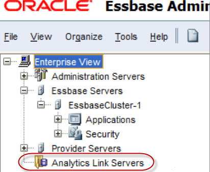 EAL – Essbase Analytics Link for HFM Installation