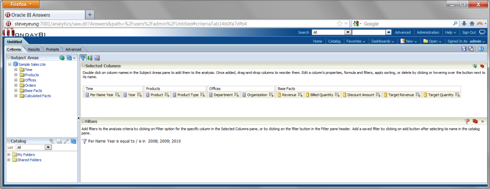 OBIEE Print Answers to PDF with Page Breaks (1/6)
