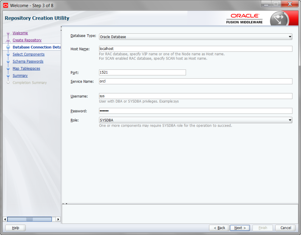 Installing OBIEE 12c  (12.2.1.0.0) on Windows 7 (5/6)